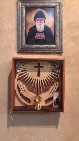 Relic of St. Charbel